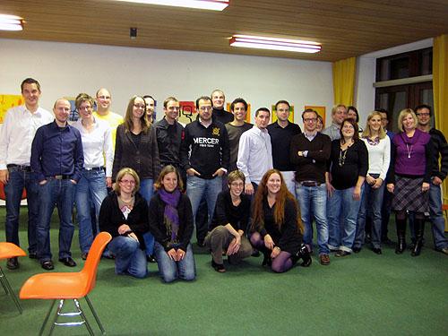 Gruppenfoto Altsasbacher Tag 17.10.2009